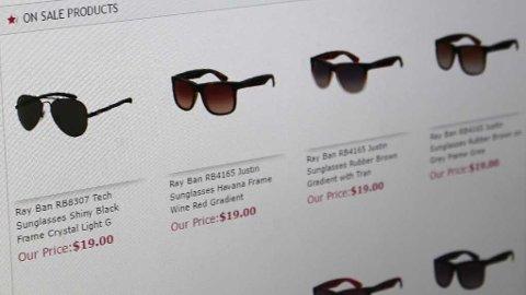 Forbrukerombudet har fått mange tips i sommer om useriøse nettbutikker som selger superbillige merkevarer.