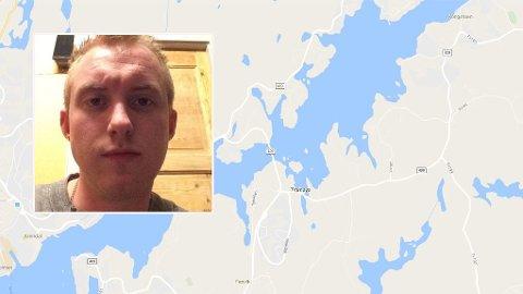 BANKET OPP. Ruben Nilsen tok med to haikere på Tromøya i Arendal tirsdag kveld for å være hyggelig. De svarte på tjenesten med å banke han opp.