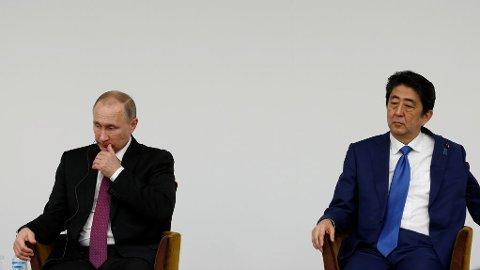 Russlands president Vladimir Putin og Japans statsminister Shinzo Abe fortsatte fredag det to dager lange møtet, men uten å enes om striden rundt øygruppen Kurilene.
