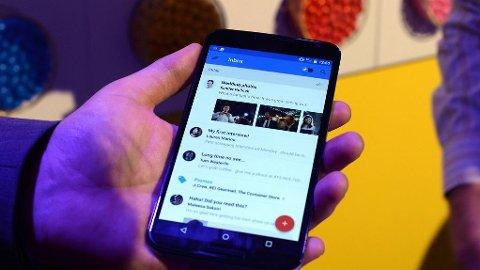 SVINDEL: Gmail er utsatt for phishing, der epostbrukerne kan ha vansker med å se forskjell på ekte vare og en svindelside.