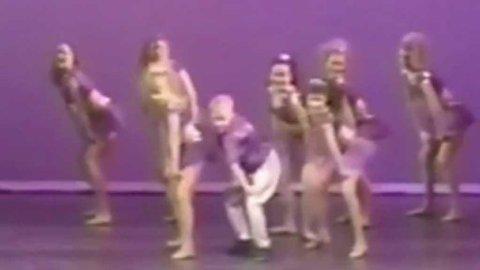 Skuespiller Ryan Gosling imponerer stort i danseoppsetning som barn.