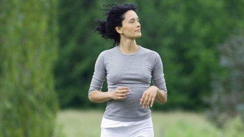 LAV INTENSITET: Liker du aller best en rolig joggetur eller rask gåtur? Det kan være like godt som å gå på «fatburner»-timen hvis du vil ned i vekt, viser det seg.