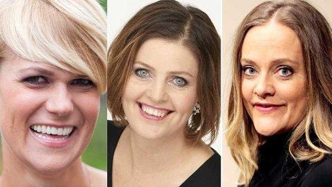 UTFORDRING: Sigrid Bonde Tusvik, Dora Thorhalsdottir og Henriette Steenstrup mener alle at boksen kvinner skal passe inn i er alt for liten.