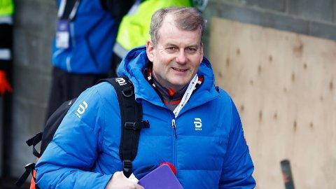 IMPONERT: Skipresident Erik Røste var tilstedeværende under ski-VM 2017 i Lahti, og mener vertskapet har vært upåklagelig.