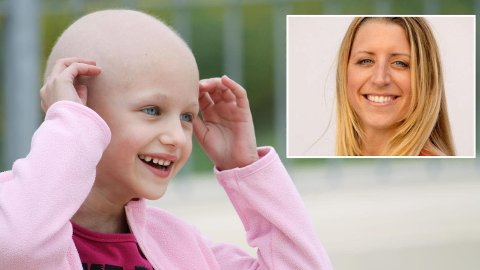 NY GIV TIL BARNEKREFT: Barnekreftforeningen er ikke bare takknemlig for pengegavene, men også for at så mange viser at de bryr seg om de kreftsyke barna, sier kommunikasjonsrådgiver Anja Haug Tronrud (innfelt).