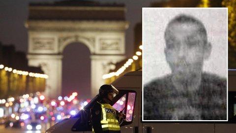 GJERNINGSMANNEN: Karim Cheurfi er utpekt som gjerningsmannen bak drapene på Champs-Élysées torsdag kveld.