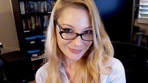 AURORA SNOW: Først lenge etter at hun hadde sluttet i pornobransjen, turte Snow å spørre faren hva han følte rundt datterens yrkesvalg.