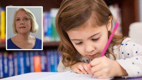 FRA BARNEHAGE TIL SKOLE: - På skolen og SFO (Aktivitetsskolen) begrenser det seg hvor mye de kan følge opp hvert enkelt barn, sier leder for foreldreutvalget i grunnopplæringen, Gunn Iren Gulløy Müller.