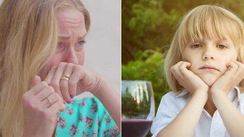 Artist Venke Knutson er en av kjendisene som føler sterkt etter å ha sett filmen med lille Lukas (6).
