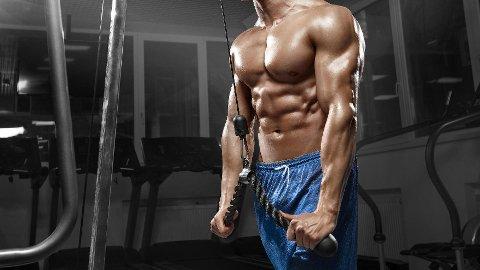 VELEGNET TIL DROPPSETT: Isolasjonsøvelser som triceps-nedtrekk er velegnet til droppsett.