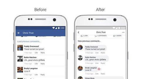 ENDRER NYHETSSTRØMMEN: Facebook endrer utseende på nyhetsstrømmen.