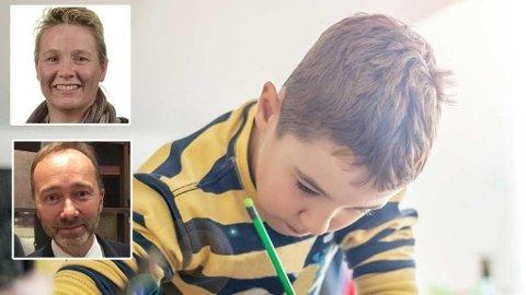 Frp går til valg på at skoleelever på barnetrinnet bør få karakterer i engelsk, norsk og matte fra og med femte klasse. - Gammeldags og kan bidra til mer press for de yngste barna, mener Trond Giske.
