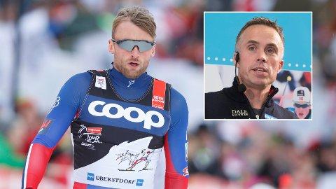 VRAKET: Vidar Løfshus bekrefter at Petter Northug ikke er med i den norske troppen som reiser for å gå verdenscupåpningen i Ruka.