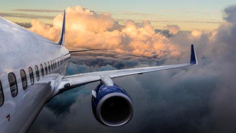ALLTID TURBULENS I SKYENE: - Det er alltid urolig i skyene, fordi luften i skyene ikke stiger med nøyaktig samme hastighet, forteller Widerøe-kaptein Johan Bye i en blogg på nettsidene til flyselskapet.