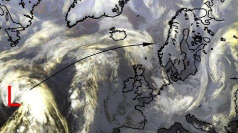 DÅRLIG: Meteorologisk melder om lavtrykk på vei mot norge - snøskredfare og vinter-temperaturer preger uken.