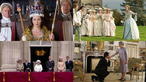 The Young Victoria, The Duchess, House of Windsor og The Queen er alle gode alternativer når du har sett ferdig The Crown.