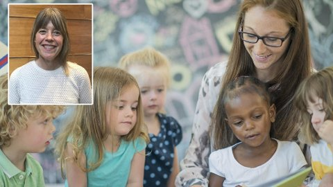- Hvis barnehagens innhold ekskluderer noen barn, risikerer vi å miste dem ut av fellesskapet, sier høgskolelektor og førskolelærer Katrine Giæver.
