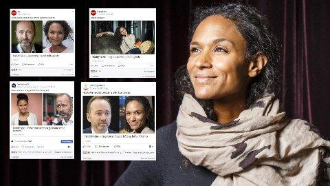 FÅR STØTTE PÅ SOSIALE MEDIER: Både VG, TV 2, Dagbladet og Nettavisen har delt saken om Haddy Njie på Facebook. Der strømmer støtten til Haddy Njie inn. Mellom 900 og 1000 kommentarer har kommet inn til de fire sakene.