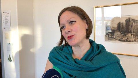 STOLT: Byråd for byutvikling i Oslo, Hanna E. Marcussen, sier hun er stolt av endringene de har gjort i hovedstaden. - Det å tenke menneske foran biler i byplanleggingen, er det jeg er aller mest stolt av, sier hun.
