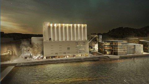 KUNSTSILO: Byggingen av hus til 600 millioner kroner for en kunstsamling skaper full splid i Kristiansand.