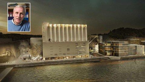FORUNDRET: Den anerkjente økonomiprofessoren Thore Johnsen ved Norges Handelshøyskole er forundret over at styret vil tappe den veldedige stiftelsen Cultiva for 100 millioner kroner for å bygge Kunstsilo i Kristiansand.
