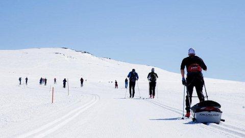 BRA SKIFØRE: Det meldes om godt skiføre mange steder i landet.