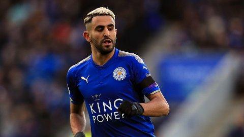 KJEMPEBOT: Riyad Mahrez skal visstnok bli bøtelagt 200.000 pund av Leicester.