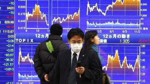 Svak oppgang på asias viktigste børser torsdag 08.02.18