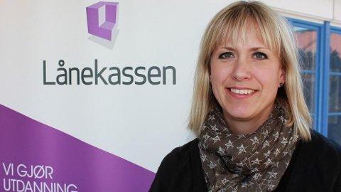 Anne-Berit Herstad, kommunikasjonsdirektør i Lånekassen.