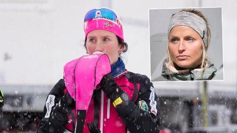 HEMMELIG TESTLØP: Marit Bjørgen målte krefter mot Therese Johaug før OL.