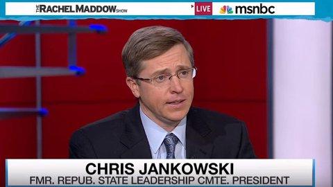 CHRIS JANKOWSKI kom opp med planen som ga republikanerne makten i USA.