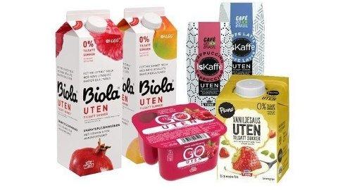 ENDRER UTSEENDE: Den nye merkingen vil komme på produktene fra slutten av februar.