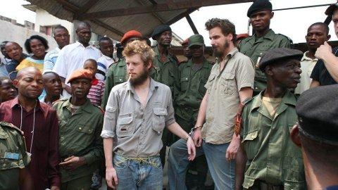 Joshua French og Tjostolv Moland var slett ikke på guttetur, men væpnede agenter på skarpt oppdrag i Kongo.