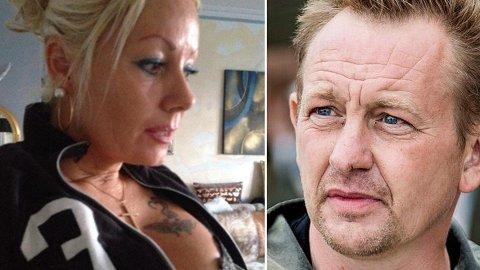 Eks-pornostjerne Dorthe-Damsgaard og Peter Madsen