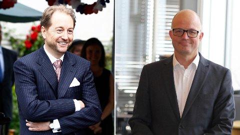 HENTER: Karl-Petter Løken blir den nye toppsjefen i Kværner, hvor Kjell Inge Røkke er største eier gjennom sitt eierskap i Aker.