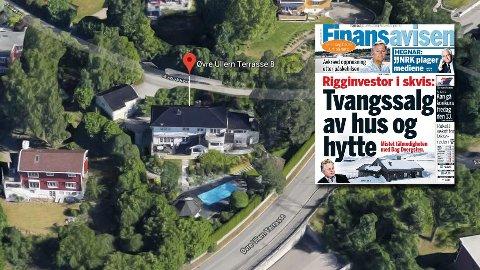 Investoren Dag Dvergsten har fått storbank og andre kreditrorer på nakken. Nå kan boligen hans i Øvre Ullern terrasse i Oslo bli tvangssolgt.