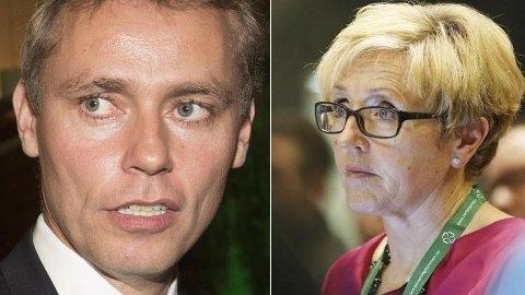 FRISTILT: Senterpartiets nestleder Ola Borten Moe har midlertidig trukket seg som nestleder på grunn av den grove meldingssaken som ble sendt til partiets tidligere partileder Liv Signe Navarsete.