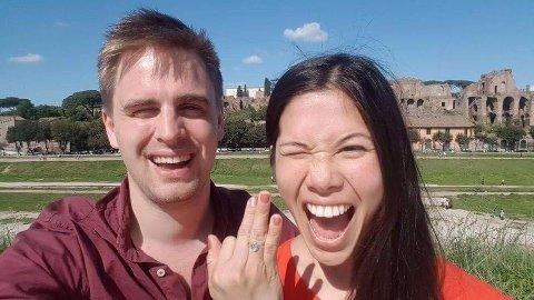 SAMBOER OG FORSVARER: MDG-politiker Eivind Trædal er ivrig forsvarer av byråd og forlovede Lan Marie Nguyen Berg.