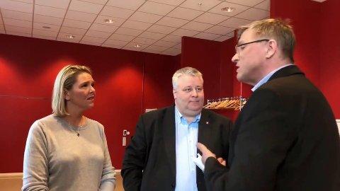 Ordfører Robert Jensen(Ap) i Vardøvar ikke blid i sitt møte med Sylvi Listhaug og Bård Hoksrud (Frp).