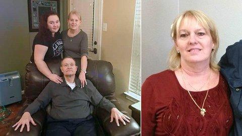 Cynthia Tisdale (t.h) ble skutt og drept i skoleskytingen i Santa Fe forrige uke. Hun jobbet to jobber for å kunne klare å betale ektemannes sykehusregninger.