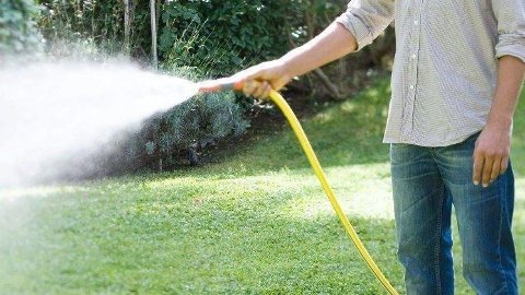 INNFØRER FORBUD: På grunn av vannmangel innfører Bamble kommune midlertidig forbud mot hagevanning med spreder og slange i kommunen.
