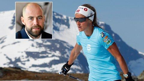 ADVARER: Sveriges landslagssjef Rikard Grip kommer med en liten advarsel til Therese Johaug.
