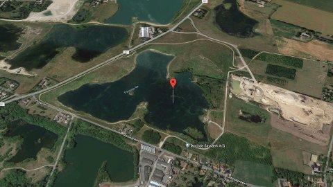 Drukningsulykken skjedde i Davinde Sø, som ligger sydøst for Odense i Danmark.