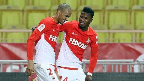 VM-KLAR: Keita Baldé (t.h.), her sammen med tidligere lagkamerat Fabinho, skal spille VM for Senegal.