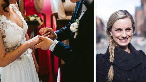 BRYLLUP: Skal du i bryllup men vet ikke hvor mye du bør gi i gave? - Gi etter lyst og lommebok, mener forbukerøkonom Silje Sandmæl.