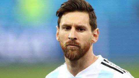 DÅRLIG VM-START: Lionel Messi har skuffet stort i VM i Russland.