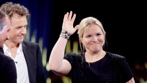 STOD FREM: Alpinist Anja Pärson stod frem som homofil i 2012 og fortalte åpent om hennes forhold til Filippa Rådin og at de to ventet barn.