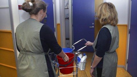 MÅ VÆRE GODKJENT: Fram til nå har bare selskaper vært pliktige å kontrollere at vaskehjelpen er offentlig godkjent. Nå må også privatpersoner gjøre det.