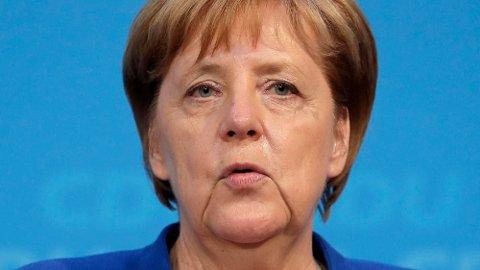 Tysklands statsminister Angela Merkel. Foto: AP / NTB scanpix.