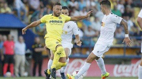 TILBAKE: Her er beviset på at Santi Cazorla har gjort comeback på fotballbanen.